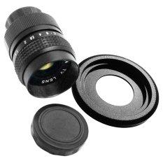 25 Mm F1.4 Lensa CCTV C Mount Canon EOS M Adaptor EOS M2 M3 M10