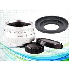Toko 25Mm F1 8 Cc Tv Tv Lens C Mount Lensa Untuk Micro 4 3 Adaptor Kamera Lensa Depan Dan Belakang Cap Intl Lengkap Di Tiongkok