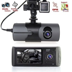 Jual 2 7 1080P Car Dvr Camera Video Recorder Dash Cam G Sensor Gps Dual Len Camera Intl Naponie Branded