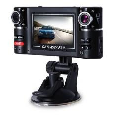 2.7 Inch Mobil DVR Kamera Video Mengemudi Perekam HD DualLensDashboard-Intl