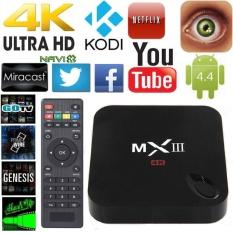 2g + 8g Smart TV BOX MXIII MX3 Quad Core Android TV Box S805 XBMC KODI Quad Core Android4.4.2 Media Player WIFI HDMI