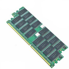 2 GB (2X1 GB) DDR 400 MHz PC3200 184PIN Non-ecc Desktop Low Density Memori Rams-Intl