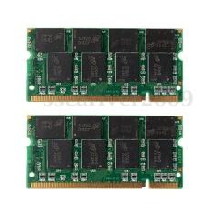 2 GB (2x1 GB) DDR 333 MHz PC2700 Non-ecc 200 Pin DIMM Notebook Laptop RAM Memori-Intl