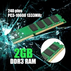 2GB DDR3 PC3-10600 1333MHz Desktop DIMM Memory RAM 240 pins For Multiple System - intl