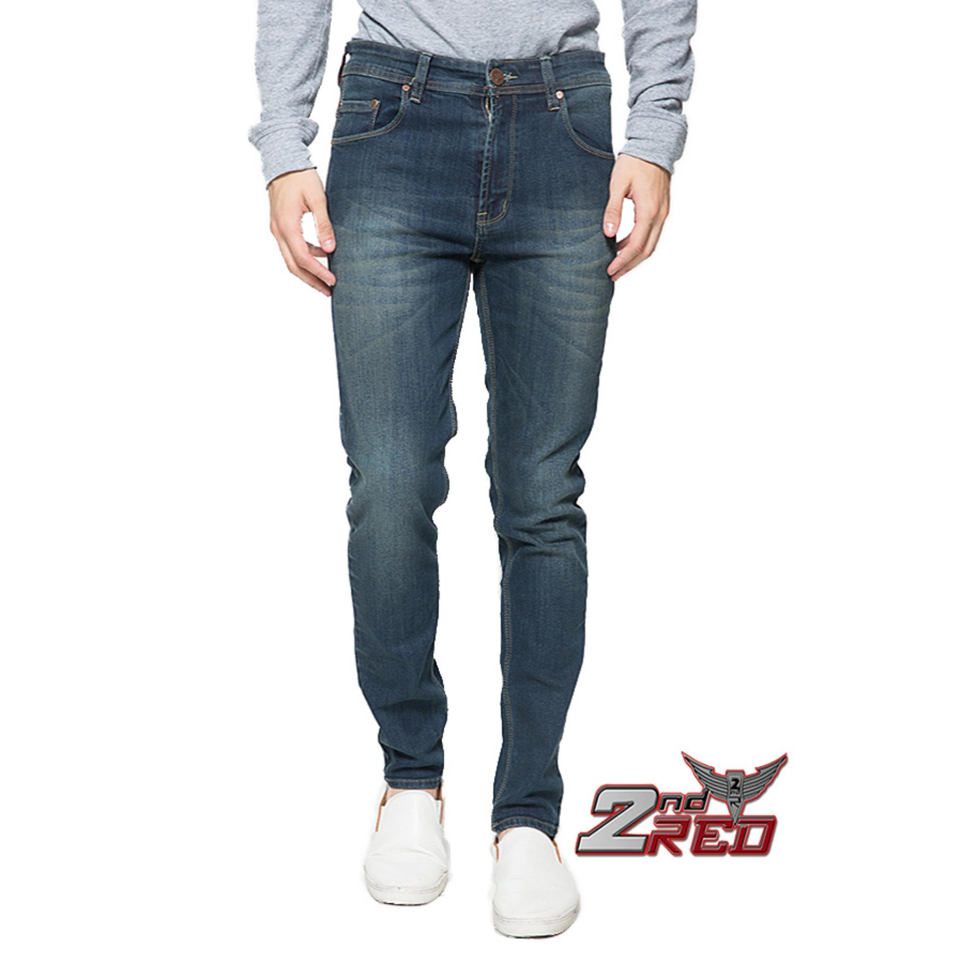2Nd RED Slim Fit Best Seller Biru Keabuan 133221