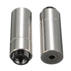 2 Pcs 12X30 Mm Perumahan Logam/Kasus untuk 3.8 Mm untuk-18 Dioda Laser W/ 200nm-1100nm Lensa Baru-Internasional
