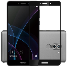 Diskon 2 Pcs Byt Penuh Cover Tempered Glass For Huawei Honor 6X 2016 Premium 3D Melengkung 9 H Hardness 3Mm Electroplated Screen Guard Pelindung Film Hitam Branded