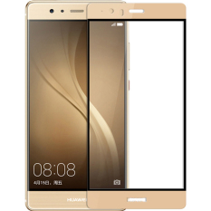 2 Buah Byt Penuh Menutupi Angry Kaca For Huawei P9 Plus Premium 3D Lekok 9 Jam Kekerasan 3Mm Disadur Penjaga Pelindung Layar Film Emas Diskon Akhir Tahun