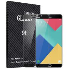 2 Pcs BYT Penuh Penutup Kaca Antigores untuk Samsung Galaxy A9 Pro (2016) Premium 9 H Hardness 0.3 Mm Dilapisi Pelindung Layar Film Pelindung