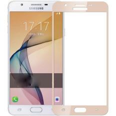 Beli 2 Pcs Byt Penuh Cover Tempered Glass Untuk Samsung Galaxy J7 Prime Galaxy On7 2016 Premium 9 H Hardness 3Mm Electroplated Screen Guard Film Pelindung Internasional Murah Tiongkok