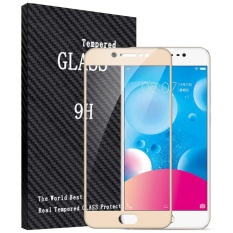 Jual 2 Pcs Byt Penuh Cover Tempered Glass Untuk Vivo V5 Vivo Y67 Premium 9 H Hardness 3Mm Lapis Listrik Screen Guard Protector Film Emas Intl Original