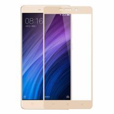 Harga 2 Buah Byt Penuh Menutupi Marah Kaca Untuk Xiaomi Redmi 4 Perdana Premium9H Kekerasan 3 Mm Disadur Penjaga Pelindung Layar Film Emas Original