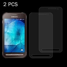 2 Pcs untuk Samsung Galaksi Xcover 3/G388F 0.26 Mm 9 H + Permukaan Hardness 2.5D Explosion-Tahan film Anti Gores-Internasional