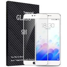 Beli 2 Pcs Full Cover Tempered Glass Untuk Meizu M3X Premium 3D Melengkung 9 H Hardness 3Mm Electroplated Screen Guard Pelindung Film Putih Intl Oem Asli