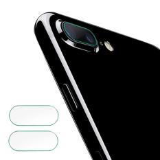 2 Pcs HD Clear Rear Fiber Glass Pelindung Lensa Kamera Camera Ring Pelindung Guard Film untuk IPhone 7 Plus 5.5 Inci-Intl