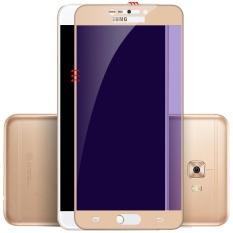 Jual 2 Pcs Ungu Light Tempered Glass Untuk Samsung Galaxy C7 Pro Premium 9 H Kekerasan 3D Melengkung Anti Bluelight Eye Protected Liputan Layar Penuh Hd Tempered Glass Screen Protector 2 Pcs Pack Intl Import