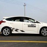 Harga 2 Pcs Racing Dan Desain Kisi Kata Rally Style Car Body Sticker Untuk Wrc Intl Online