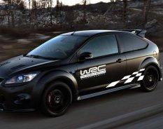 2 Pcs Racing dan Desain Kisi Kata Rally Style Car Body Sticker untuk WRC-Intl