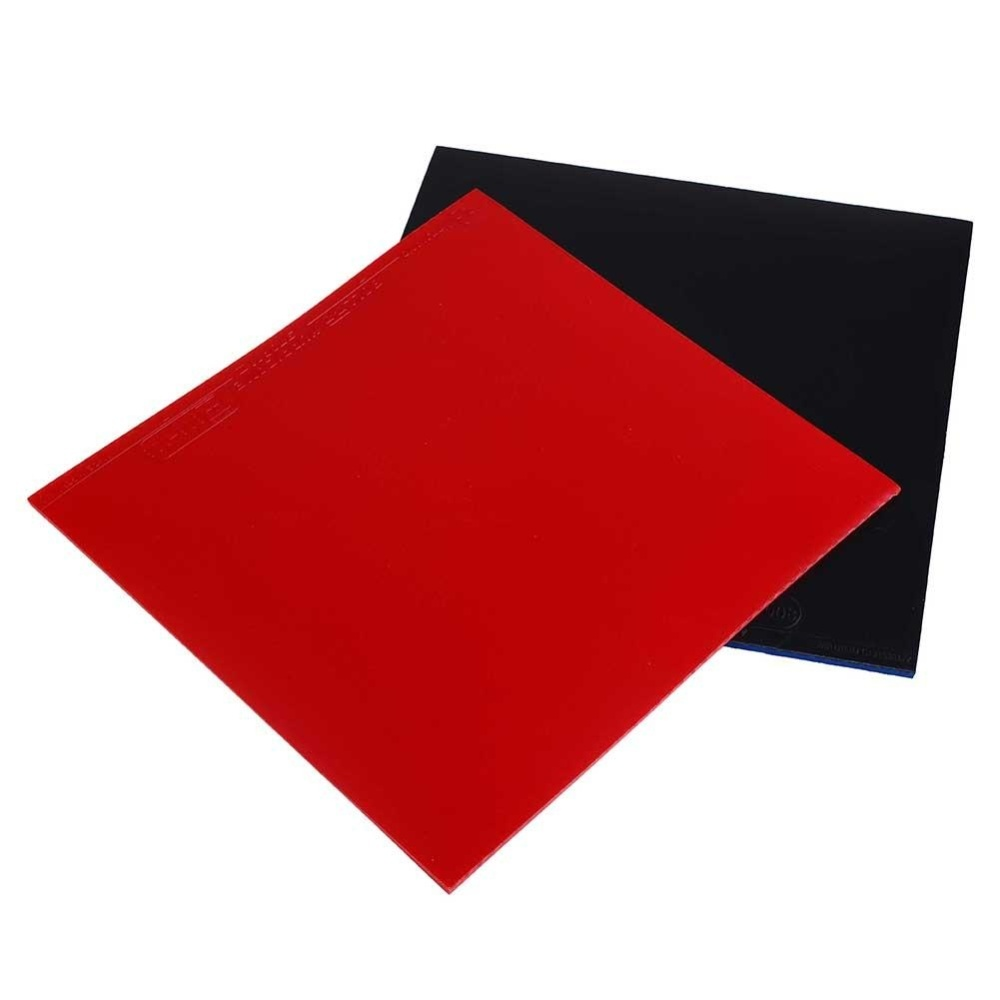 Diskon 2Pcs Table Tennis Racket Pips In Pingpong Raquette Rubber Sponge Red Black High Intl Branded