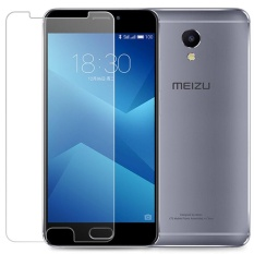 Spesifikasi 2 Pcs Tempered Glass Untuk Meizu M5 Catatan Premium 9 H Hardness 3Mm Bulat Warna Screen Guard Protector Film Clear Intl Online