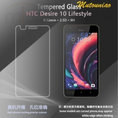 2pcs/lot For HTC Desire 10 Lifestyle 9H Premium Clear Tempered Glass Screen Protector Film - intl