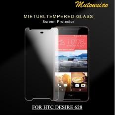 2 Pcs/lot untuk HTC Desire 628 9 H Premium Kaca Melunakkan Layar Pelindung Film-International