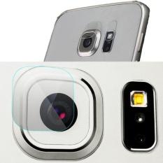 2 Set/4 Pcs 9 H Tempered Kaca Film Bening Belakang Kamera Lensa Flash Protector Guard Cover untuk Samsung Galaxy Note 5/S6/S6 Edge/S6 (untuk S7 EDGE) -Intl