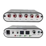 Toko 2Way Spdif Serat Optik Input Jaringan Player Audio Decoder Kaya Antarmuka Input Intl Tiongkok