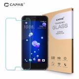 Harga 2X Capas 9 H Ultra Slim Tempered Glass Pelindung Film Untuk Htc U11 Intl Fullset Murah