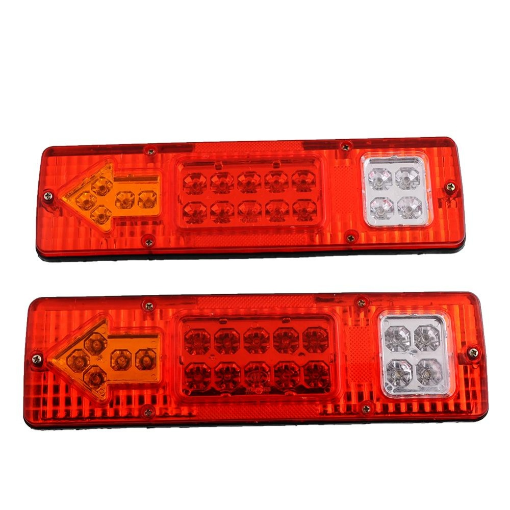 Situs Review 2X19 Led Trailer Truck Rv Rear Tail Stop Reverse Light Kampanye Versus Lampu Intl