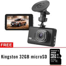 Diskon 3 Hd 1080P Kamera Mobil W 32Gb Micro Sd Card Branded