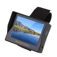 Beli 3 5 Inci Warna Tft Portabel Kamera Cctv Memantau Memimpin Uji Keamanan Pengawasan Penguji Untuk Masukan Audio Video Dengan Kartu Kredit