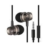 Daftar Harga 3 5Mm In Ear Earphone Earbud Logam Stereo Super Bass Headset Handsfree Dengan Mic Untuk Kebanyakan Ponsel Mp3 Intl Oem