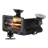Jual 3 Channel Dvr Mobil Hd Kamera Dash Cam G Sensor Motion Detection Ma1376 Intl Xcsource Asli