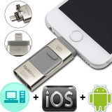 Harga Termurah 3 In 1 I Flash Drive Usb Otg Usb Hd Pendrive Data Petir Untuk Iphone Ipad Ipod Android Intl