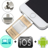 Spesifikasi 3 In 1 I Flash Drive Usb Otg Usb Hd Pendrive Data Petir Untuk Iphone Ipad Ipod Android Intl Merk Oem