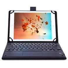 Review 3 In 1 Universal Bluetooth Keyboard Touch Control Tablet Protective Case With Stander Black Intl