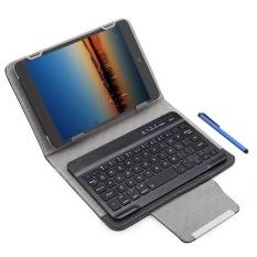 3 In 1 Universal Nirkabel Bluetooth Keyboard Tablet Pelindung Case dengan Stander Bulkier untuk IOS/Android/Windows 7/ 8 Inch (Hitam) -Intl