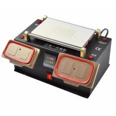 3 In1 Separator LCD Vacuum/Preheater/Pemanasan Awal STATION/Bezel Bingkai Tengah Separator untuk IPhone Samsung Layar Sentuh Refurbish Perbaikan Mesin-Intl