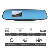 Jual 3 Inch 140 Degree Car Dvr Video Rearview Mirror Monitor Backup Camera Hd 1080P Intl Ori
