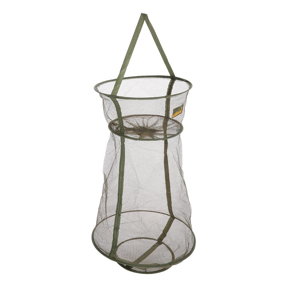 Diskon 3 Layers Quick Dry Fishing Net Trap Net Mesh Net Folding Shrimp Nets Cage Fishing Tackle 4 Sizes Intl Not Specified Di Tiongkok