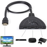 Toko 3 Port 1080 P Hdmi Auto Switch Splitter Switcher Hub Untuk Ps4 Kotak Kabel Xbox One S Internasional Terdekat