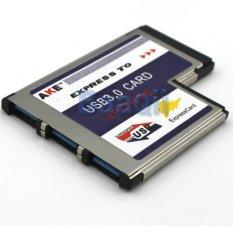 Toko 3 Port Tersembunyi Di Dalam Usb 3 Hub Untuk Kartu Express Expresscard Adattatore Untuk Pc Termurah