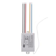Tips Beli 3 Cara Port On Off 220 V Digital Wireless Remote Mengendalikan Cahaya Lampu Lampu Saklar