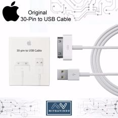 Review Tentang 30 Pin To Usb Cable Apple Original 100 For Iphone 3 4 4S Ipad2 Data Sync Charger Charging