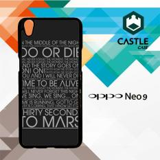 30 Second To Mars Do Or Die B0067 OPPO A37/NEO 9 Custom Case Cover