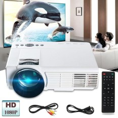 Spek 3000 Lumens 1080 P Full Hd Led Video Proyektor Multimedia Theater Tv Usb Vga Pc Intl Hong Kong Sar Tiongkok