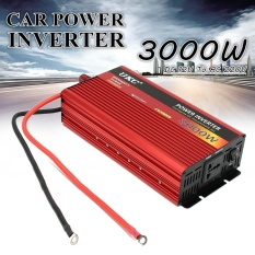 Spesifikasi 3000 W Dc 12 V Ke Ac 220 V Portable Mobil Modified Sine Wave Power Inverter Converter Intl Yang Bagus