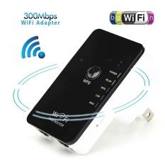 Jual 300 Mbps Mini Wireless Wifi Router Repeater Dengan Wps Jangkauan Sinyal Extender Booster Hitam Dan Putih Usa Intl Online Di Tiongkok