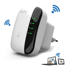 300 Mbps Wireless Router Wifi Repeater Sinyal Range Amplifier Booster KAMI-Internasional